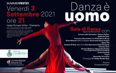 SUMMERFEST21 – DANZA E' UOMO